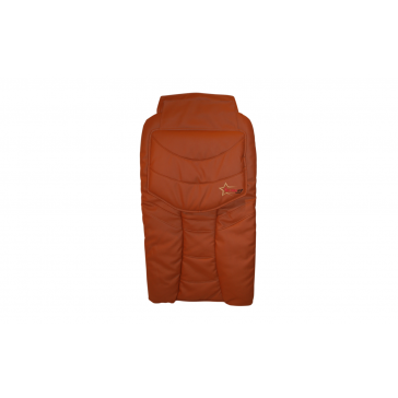 Cover Leather_Brick color (21A)