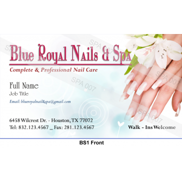 BS1 Business card