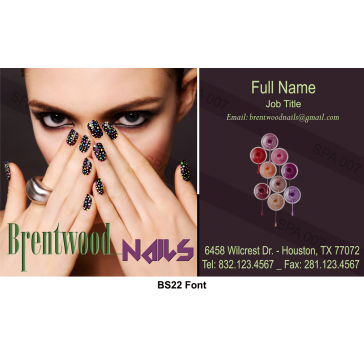 BS22 Business Card