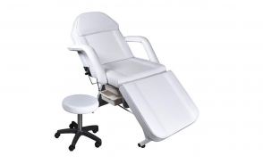 Facial Bed/ Stool White